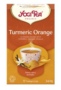 HerbatkaTURMERIC ORANGE (17x2) Yogi Tea