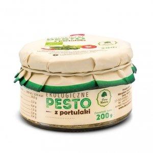 PESTO Z PORTULAKI BIO 200 g - DARY NATURY