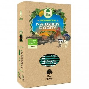 HERBATKA NA DZIEŃ DOBRY BIO (25 x 1,5 g) - DARY NATURY