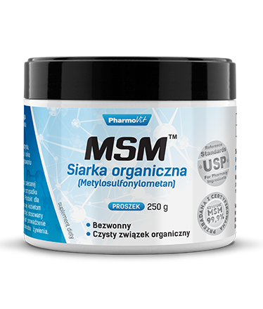 MSM™ Siarka organiczna  250g Pharmovit