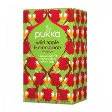 PUKKA bio herbata cynamonowa WILD APPLE 20szt