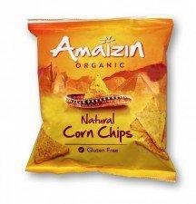 AMAIZIN bio chipsy bezglutenowe SOLONE 75g