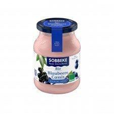 SOBBEKE bio jogurt 3,8% JAGODA & PORZECZKA 500g