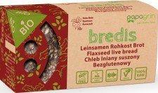 PAPAGRIN bio chleb lniany raw BURAK 70g