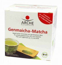 ARCHE bio herbata zielona matcha GENMAICHA 10x1.5g