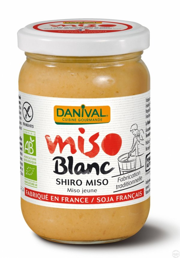 MISO SHIRO BIAŁE (NA BAZIE RYŻU) BEZGLUTENOWE BIO 200 g - DANIVAL