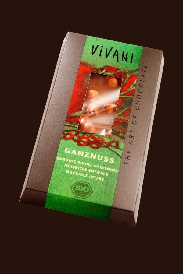 VIVANI bio czekolada mleczna ORZECHY 100g