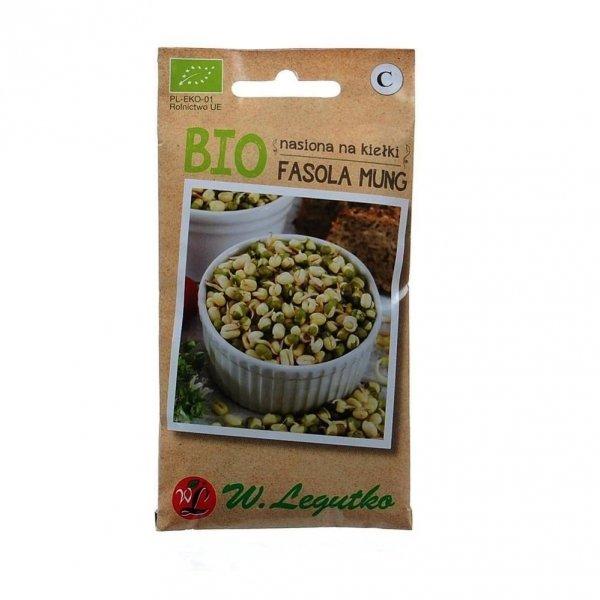 Eko Bio Nasiona na Kiełki Fasola Mung 30 g Legutko