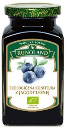 KONFITURA Z JAGODY LEŚNEJ BIO 320 g - RUNOLAND