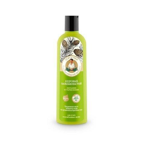 Ba Odżywka do włosów suchych i osłabionych cedrowa 280 ml
