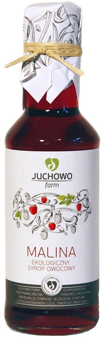 SYROP MALINOWY BIO 200 ml - JUCHOWO (FUNDACJA)