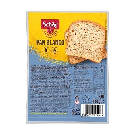 Chleb biały Pan Bianco bezglutenowy 250 g 5szt