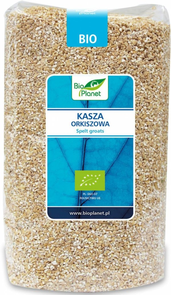 KASZA ORKISZOWA BIO 1 kg - BIO PLANET