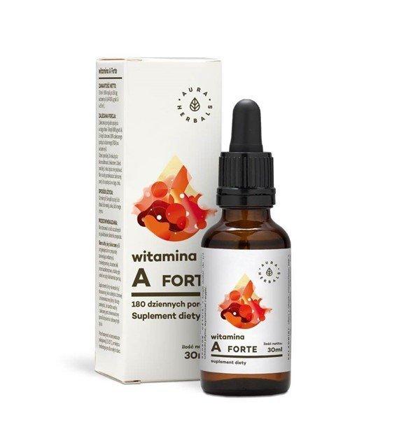 Witamina A Forte - krople (30ml) aura Herbals