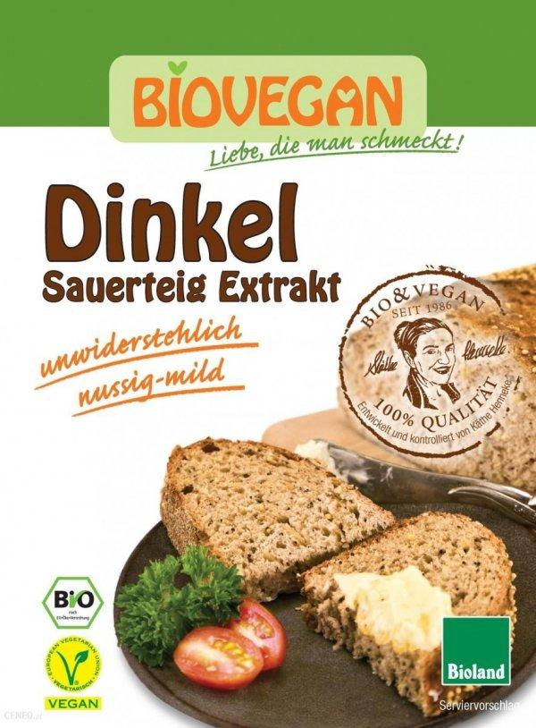 BIO VEGAN bio zakwas chlebowy ORKISZ 30g