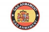 Naszywka G&G - Hiszpania