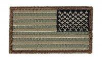 MIL-SPEC MONKEY - US Flag Reversed - Forest