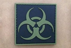 Naszywka 3D - Biohazard