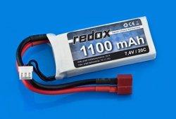 Akumulator Redox LiPo 1100mAh 7,4V 20C