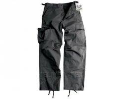 Spodnie BDU - PolyCotton Ripstop - czarne