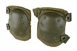 Zestaw ochraniaczy na kolana - oliwkowy