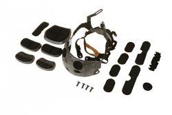 Fasunek i zawieszenie do kasków typu OPS CORE ACH - czarny