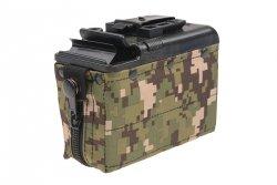 CA - Magazynek BOX na 1200 kulek do M249 - digital woodland