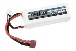 Akumulator LiPo 2000 mAh 11,1V 20C
