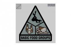 Naszywka Basic Food Groups - SWAT