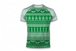 Koszulka T-shirt ChristmasGreen