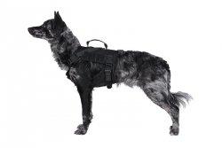 Szelki taktyczne dla psa - czarne