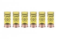 Zestaw kieliszków taktycznych 12 Gauge 20ml - żółty