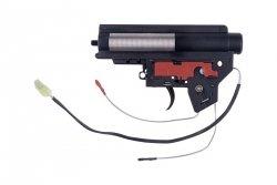 Specna Arms - Kompletny gearbox V2 Mod.2 z mikrostykiem (kable na tył)