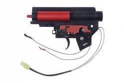 Specna Arms - Kompletny gearbox V2 ze stykiem elektronicznym (kable na tył)