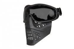 Maska z goglami ANT - czarny