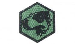 Combat-ID - Naszywka Bloodhound - Zielony - Gen I