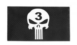 Combat-ID - Naszywka Punisher Seal Team 3 - Czarny - Gen III