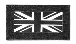 Combat-ID - Naszywka Combat ID - UK - Czarny / DPM