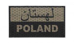 Combat-ID - Naszywka Polska - Perski - Coyote Tan - Gen I