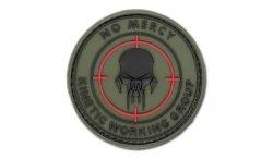 FOSTEX - Naszywka 3D - No Mercy - Kinetic Working Group - Forest