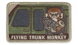 MIL-SPEC MONKEY - Morale Patch - Flying Trunk Monkey - Multicam
