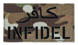 Combat-ID - Naszywka INFIDEL - MultiCam - Gen II IR Proline