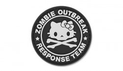 4TAC - Naszywka 3D - Zombie Outbreak Kitty