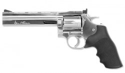 ASG - Dan Wesson 715 6'' Revolver - Silver - Low Power - 18194