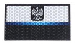 Combat-ID - Naszywka Polska Policja - Duża - Bez napisu - Gen I