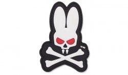 101 Inc. - Naszywka 3D - Skull Bunny - Biały