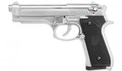 WE - Replika Beretta M92 Chrome Full Metal