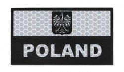 Combat-ID - Naszywka Polska - Duża - Biały - Gen I - A1