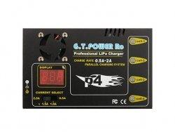 Mikroprocesorowa ładowarka GTPP4 do akumulatorów litowych [ACM]
