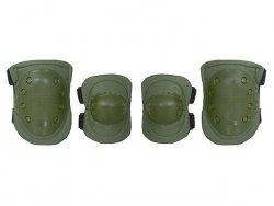 Ochraniacze na kolana i łokcie - olive [8FIELDS]